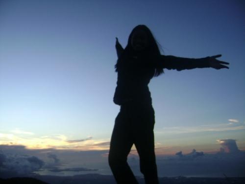 Sunrise at Mt Banahaw