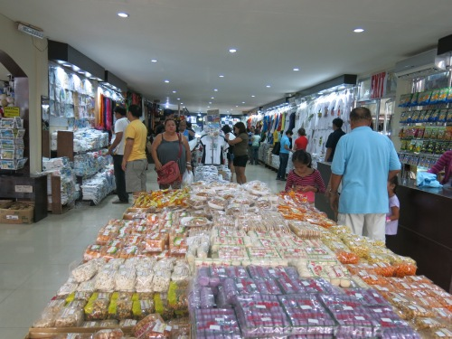 They offer the most diverse options and the cheapest prices of souvenir items