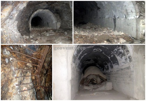 Bombed areas of the Malinta Tunnel