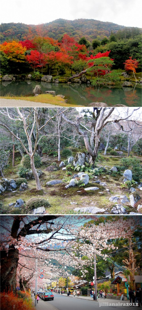 Kyoto in Autumn, Winter, and Spring