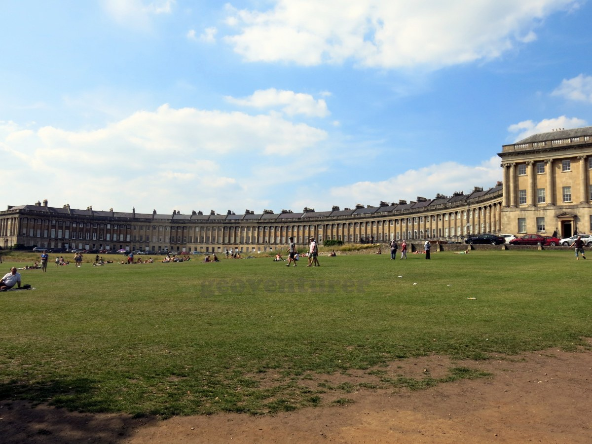 Bath in summer: day trip to the World Heritage city