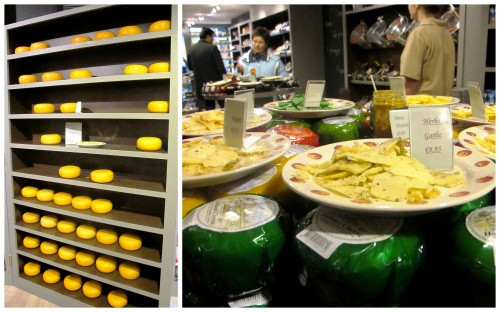 Cheese everywhere!