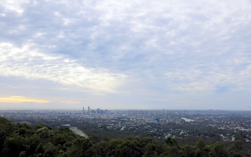 The view from Mt. Coot-tha Lookout
