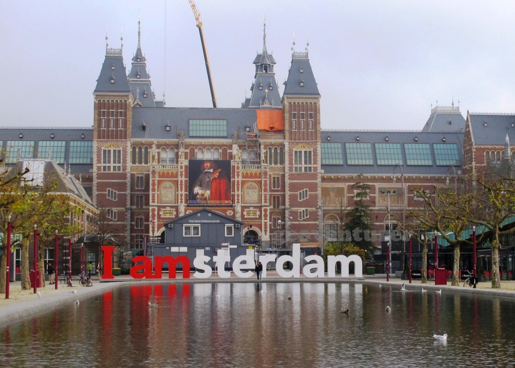 """""""I amsterdam"""": Playing tourist in the Dutch capital 