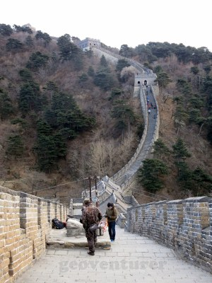 Vendors in the Great Wall