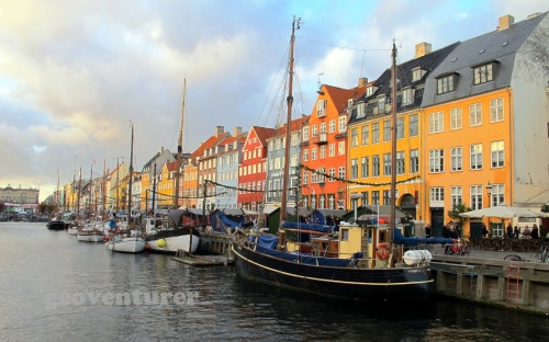 The colorful side of Nyhavn