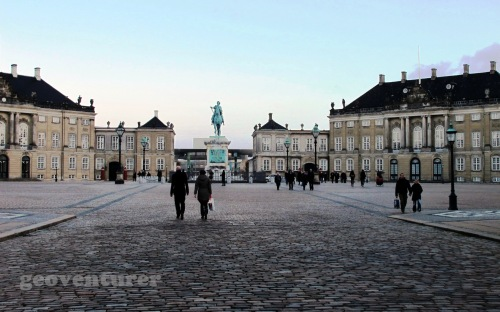Amalienborg Palace grounds