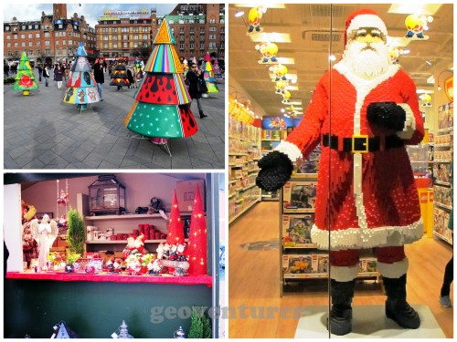 Christmas in Copenhagen (yes, life-sized Lego Santa)