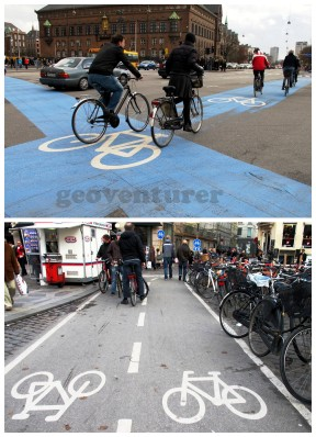 Bike lanes everywhere!