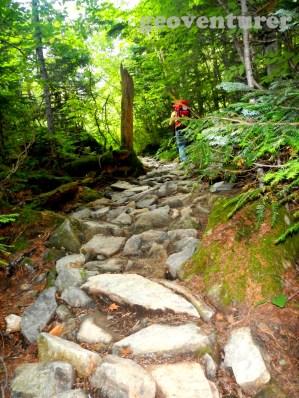 """'Rocky"""" trail"""