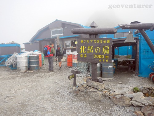 mountain hut at 3,000 masl