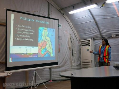 Impromptu presentation