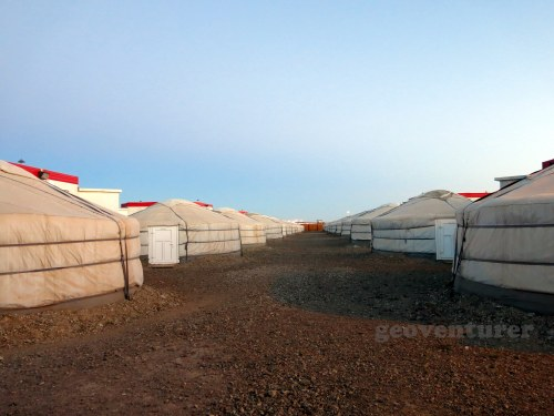 Our accommodations at the Oyu Tolgoi